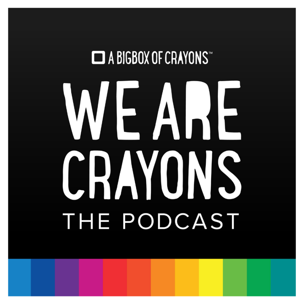 We Are Crayons Podcast logo
