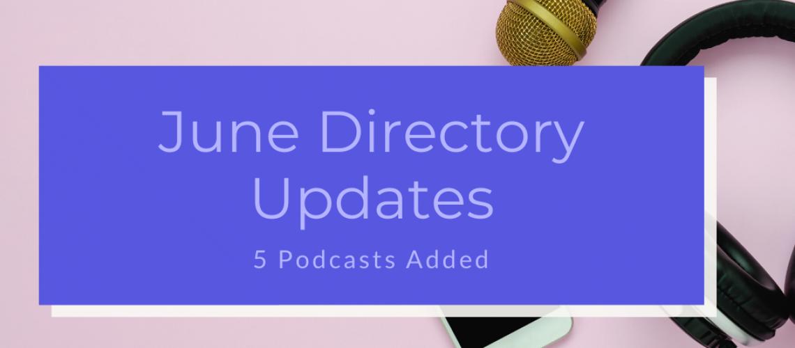 Caribbean Podcast Directory June Updates