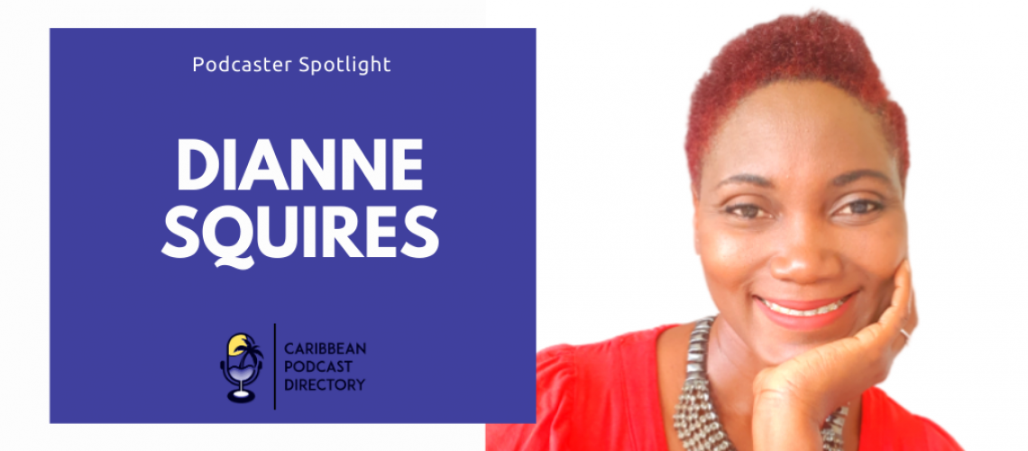 Dianne Squires March Podcaster Spotlight