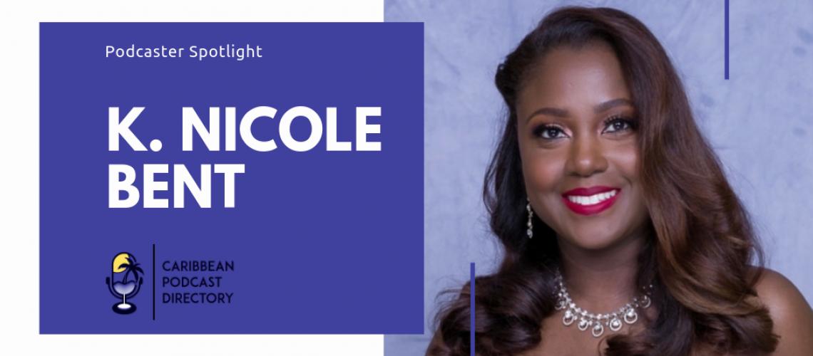 K Nicole Bent of Oh Hell No Podcast spotlight