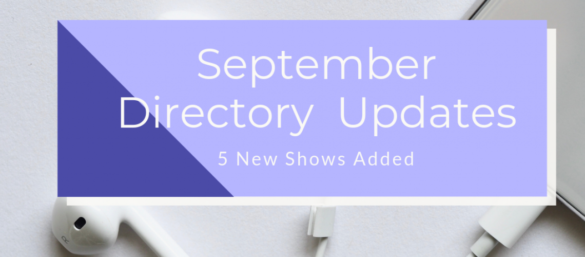 September Directory Updates to the Caribbean Podcast Directory